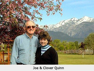 Clover and Joe Quinn || Wild Rose Emu Ranch